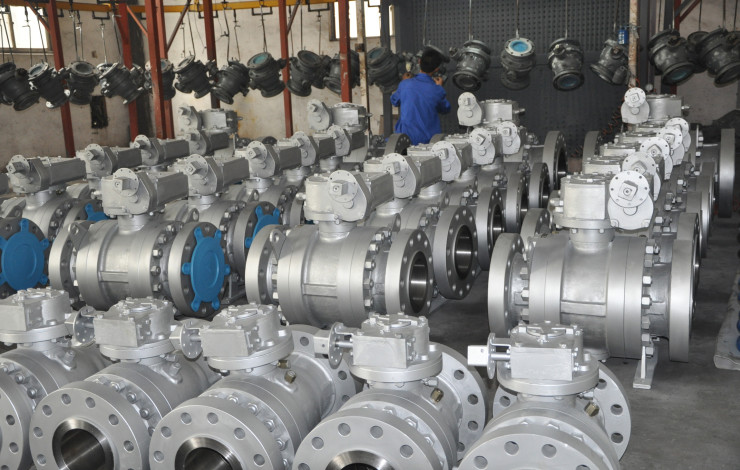An increase in global demand for valves