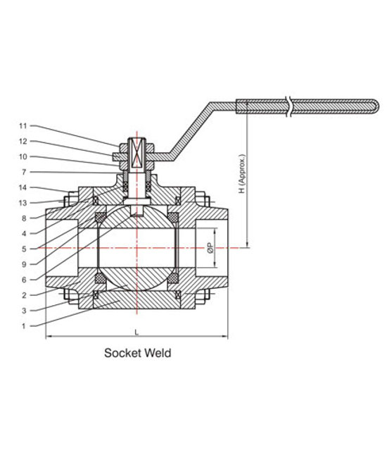 forged-ball-valves-drawing